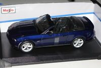 Ford Mustang GT Cabrio 2010 dunkel blau met. 1:18 Maisto 31158 neu & OVP