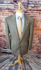 Ermenegildo Zegna 44R 15 MilMil 15 Grey Windowpane WOOL Sport Coat Jacket Blazer