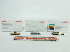 bc536-0,5 # 3x Märklin MINI CLUB Z Vagón de mercancía: 1995 + TODO BUENA