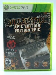 Bulletstorm Epic Edition (Microsoft Xbox 360, 2011) Complete With Manual CIB