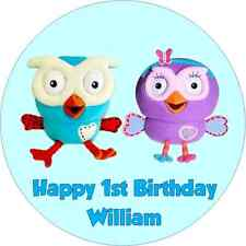 Personalised 19cm Giggle and Hoot Edible Wafer Paper Cake Topper