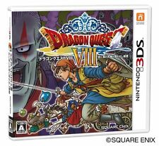 Dragon Quest 8 Nintendo 3DS Game Japanese Import RPG  DQ8