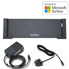 Microsoft surface docking stations with power leads Pro 3 compatible x 3