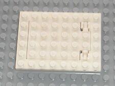 LEGO White Trap door ref 92099 + 92107 / set 3366...etc