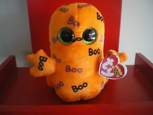 Ty Beanie Boos GHOULIE the ghost 6 inch NWMT.  HALLOWEEN BOOS - LIMITED QUANTITY