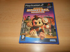 Super Monkey Ball Adventure (Monkeyball) - Playstation 2 PS2-NEU versiegelt