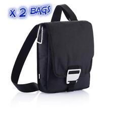 "2 X Bolsa Bandolera para Tablet Negro Correa Ajustable compartimento de 7"" a 8"" comprimido"