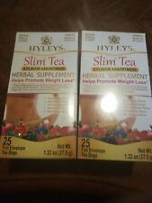 (2) Hyleys Slim Tea 5 Flavor Assortment S2