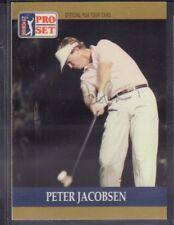 Peter Jacobsen 1990 PGA Tour Pro Set #19 Autographed Signed jhpsg