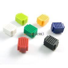 7pcs Mini 25 Points Breadboard Solderless Prototype Tie-point For Arduino