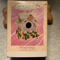 Treetop Cottage 1994 Vintage Hallmark Keepsake Ornament Easter Collection