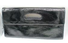 Hobo International Black Patent Leather Clutch Purse