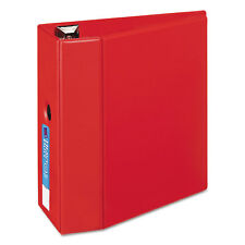 "Avery Heavy-Duty Binder with One Touch EZD Rings 11 x 8 1/2 5"" Capacity Red"