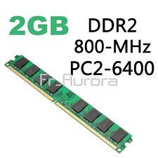 RAM 2GB DDR2 800MHZ PC2-6400 240 Pins For AMD CPU Motherboard Desktop Memory