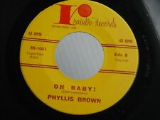 Z9 RAINBO 1001 NORTHERN SOUL PHYLLIS BROWN WHY OH BABY CLIFF CHAMBERS
