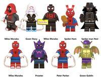Myles Morales Spider-man Spider-Ham Prowler Green Goblin Marvel Avengers Toys