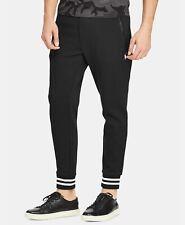 POLO RALPH LAUREN Mens PWING 2 Black Double-Knit Performance Jogger Track Pant