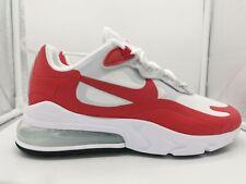 Nike Air Max 270 React UK 8 White University Red CW2625-100