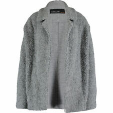 MARC CAIN Women's Grey Virgin Wool Mix Jacket rrp £330 - size UK16 (N5)