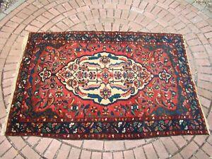 Antique Southwest Persian Bakhtiari Rug Heriz like pattern