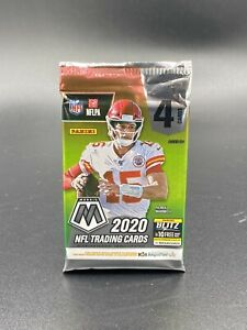 Free Shipping SEALED NFL Panini Mosaic Blaster Pack INDIVIDUAL PACKS 4 CARDS