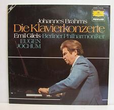 "BRAHMS DIE KLAVIERKONZERTE EMIL GILELS EUGEN JOCHUM 2LP-BOX 12""LP (e310)"