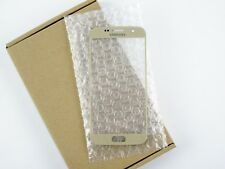 Front Glass Lens Screen Replacement Part For Samsung Galaxy S7 SM-G930 (Gold)
