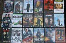 NICOLAS CAGE dvd  MEGA collection - 18 different DVDS job lot BUNDLE joblot
