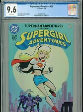 New Listing1998 Dc Superman Adventures #21 Bruce Timm Supergirl Cover Cgc 9.6 White Box1