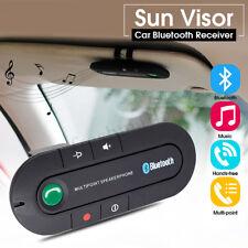 Inalámbrico Bluetooth Receptor Altavoz de Coche Manos Libres Adaptador+Cargador