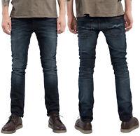 Nudie Herren Slim Skinny Fit Jeans-Hose | Thin Finn Mortal Indigo |Stretch