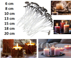 Hight Quality! Pre Wicks For Candle Making With Sustainers Wax Art <Variations>