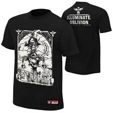 Bray Wyatt Illuminate Oblivion WWE Authentic Mens Black T-shirt