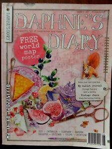 Daphne's Diary magazine Issue Number 6 2017 not been used Good condition