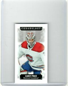 2019-20 Upper Deck UD Chronology CAREY PRICE Mini /60 Montreal Canadiens Habs