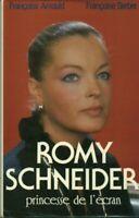 Livre princesse de l'écran Romy Schneider 1986 France Loisirs  book
