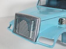 Custom Aluminum Front Center Grill Mesh for Tamiya 1/14 RC Knight Hauler Semi