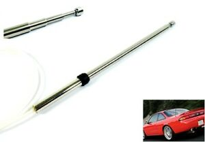 Power Antenna AM FM Radio Replacement Mast Cable For 1995-1998 Nissan 240SX S14
