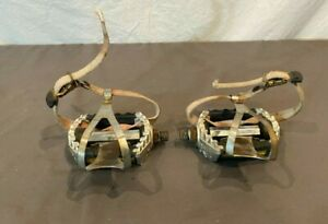 Vintage 1980s Shimano PD-GX10 CrMo Platform Pedals w/Christophe Special Cages
