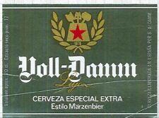 SPAIN SA Damm,Barcelone Voll Damm Märzen 20cl beer label C1611