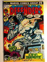 1973 The DEFENDERS 5 NM Stan Lee Dr Strange Hulk Marvel Key