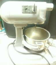 Hobart N50 Vtg 5 Quart Mixer w/ Bowl And Attachments