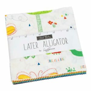 Moda Fabrics Charm Pack - Later Alligator by Sandy Gervais