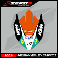 KTM SX-SXF 2016-2020 EXC-EXCF 017-020 FRONT FENDER DECAL MOTOCROSS GRAPHICS  -TI