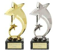 Star Trophy + FREE Engraving + FREE P&P On Additional Trophies