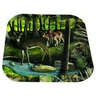 """Next Camo Deer Paper Plates, Party Birthday Wedding 7"""" Square"""