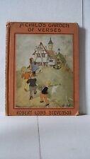 1929 a childs garden of verses book by robert louis stevenson