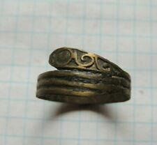 Ancient Bronze Snake Ring