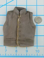 Bbk Civil War CSA Waistcoat 1/6 Toys Dragon Joe Rebel Vest Cowboy Western redman