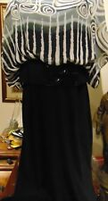 FRANK LYMAN Stunning  Women's Evening Dress Size 12